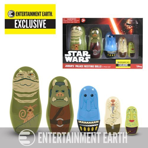 Star Wars Jabba Nesting Dolls Entertainment Earth Exclusive by PPWToys PPW Toys