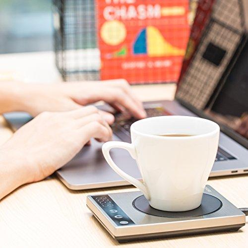 Premium COSORI 24Watt Stainless Steel Coffee Mug Warmer ...