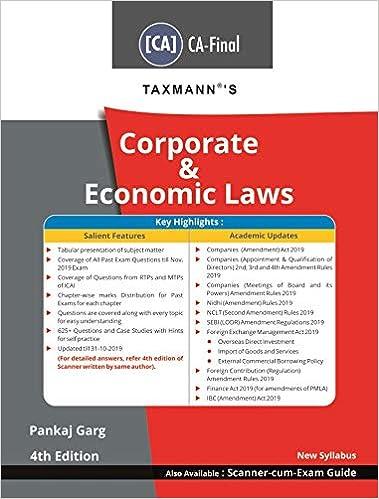 Ca Final Corporate & Economic Laws (CA-Final-New Syllabus)