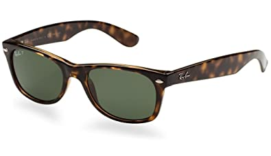 7f26a8a79008f Amazon.com  Ray Ban RB2132 902 58 52 Tortoise Polarized New Wayfarer ...