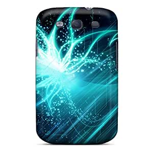 High Grade Loving Sky Flexible Tpu Case For Galaxy S3 - Flowers