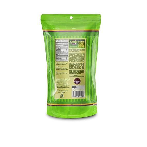 Michelle s Home Made – sana plátano chips – 350 g/12,35 oz ...