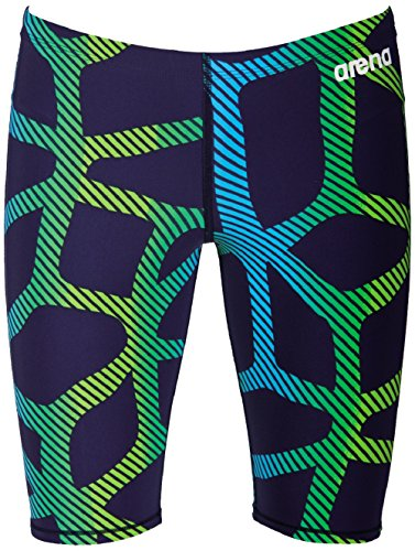 Limited Suit Edition - Arena Powerskin ST Jammer SL Limited Edition Navy Flo Green 32
