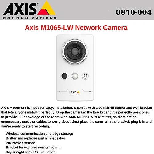AXIS M1065 LW Network Camera 0810 004 product image