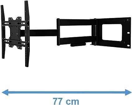 DQ Hercules Fixed Negro - Soporte de Pared para TV: Amazon.es: Electrónica