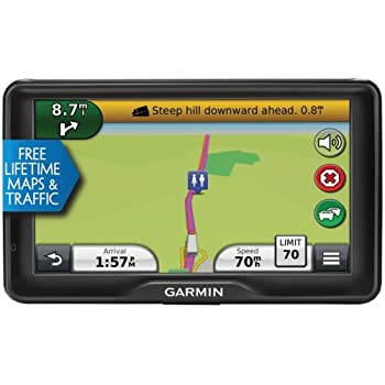 Garmin Dezl 760LMT 7-Inch Bluetooth Trucking GPS with Lifetime Maps & Traffic (Certified Refurbished)