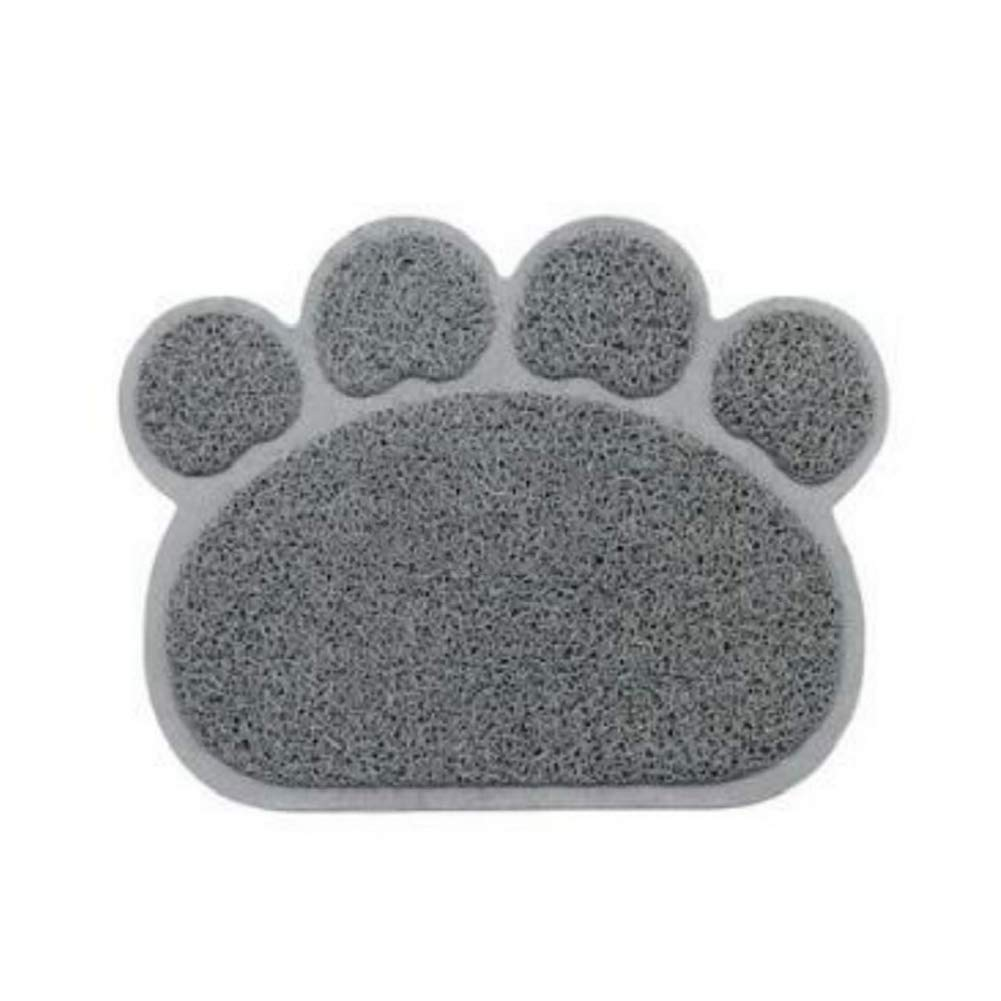 Runfon Tapis de Litière pour Chat Tapis Anti-poussière Facile à Nettoyer Imperméable
