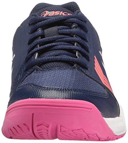 ASICS Damen Gel-Dedicate 5 Tennisschuh Indigo Blau / Weiß / Diva Pink