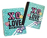 XO Love Your Selfie Composition and XO Love Your Selfie Spiral Wide Rule Notebook Set