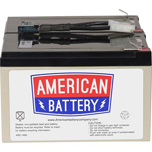 American Battery - RBC6 UPS Replacement Battery  for APC By American Battery
