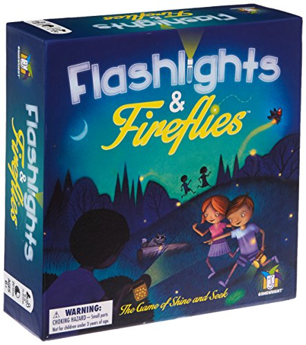Gamewright 417 Flashlights Fireflies Board