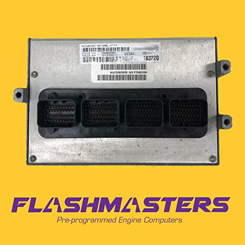 Flashmasters 2005 Compatible for Dodge Dakota 3.7L Computer 56028884 ECM PCM ECU Programmed to Your VIN