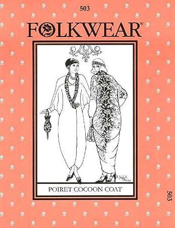 Amazon.com: Patrones – folkwear # 503 Poiret perchero de ...