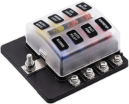 Soporte de caja de fusibles para coches, de 32 V, CC, para ...