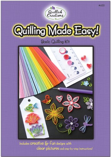 Quilling Kit - Quilling Made Easy 1 pcs sku# 1064751MA by Quilled Creations