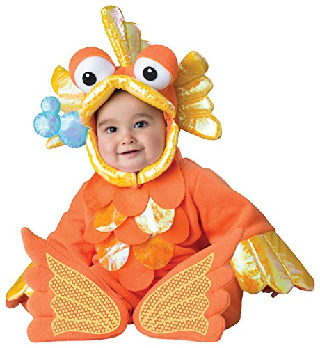 Giggly Goldfish Infant Toddler Costumes - Giggly Goldfish Baby Infant Costume -