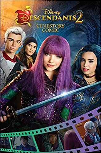 Amazon Disney Descendants 2 Cinestory Comic 9781772757699 Books