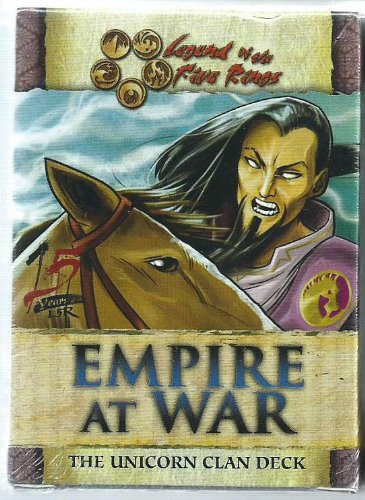 Legend of the Five Rings Empire At War Unicorn Clan Starter (Clan Starter Deck)