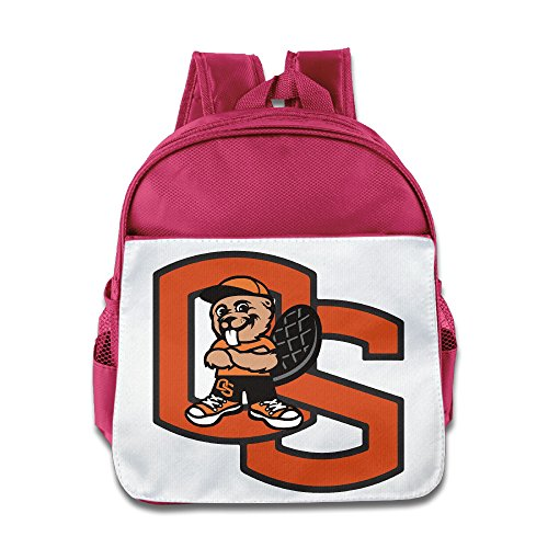 Oregon State Beavers Mascot Toddler Kids Shoulder School Bag - Oregon Uva