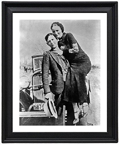 Bonnie and Clyde 3 - Picture Frame 8x10 inches - Poster - Print