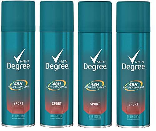 Degree Men Antiperspirant & Deodorant Aerosol, Sport 6 oz