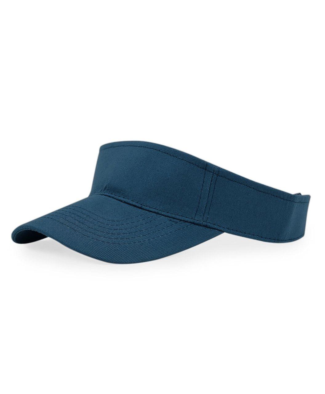 Solid Sport Adjustable Sun Visor Hat