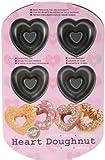 Wilton Nonstick 6-Cavity Heart Donut Pan