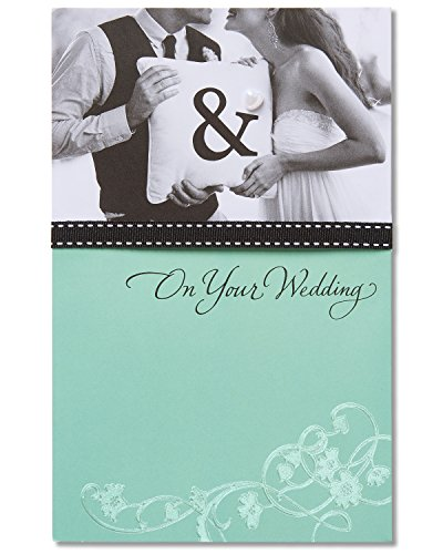 American Greetings Best Part Wedding Card with Ribbon