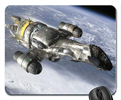 Serenity World Firefly Spaceships Vehicles Mouse Pad Mats Mousepad Hot Gift -