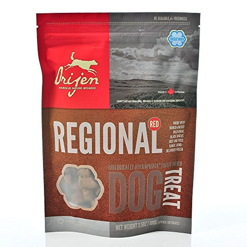 Orijen Regional Red Freeze-dried Dog Treats, 3.5-oz Bag Pack of 6
