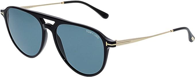 93b8889803f16 Tom Ford Unisex Adults  FT0587 01V 58 Sunglasses