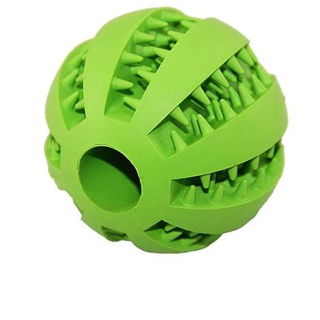 Bola doble de juguete para perro mascota Bola de goma elástica ...