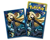 Pokemon Gym Exclusive Cynthia's Full Power Card Game Character Sleeve Deck Shield Lucario Garchomp Pokemon Center