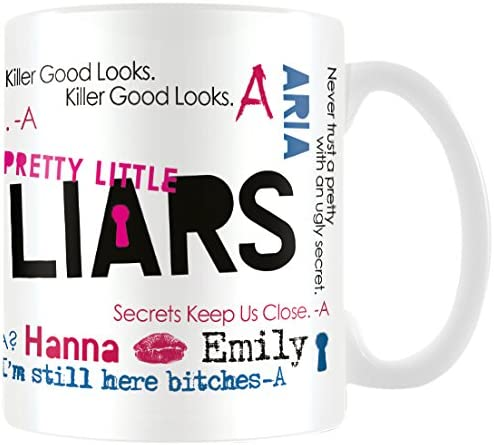 Pretty Little Liars MG23462 8 x 11,5 x 9,5 cm Montaje Taza de cerámica: Amazon.es: Hogar