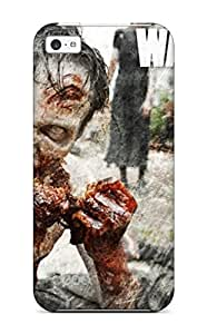Slim Fit Tpu Protector Shock Absorbent Bumper Attractive The Waking Dead Walkpaper The Walking Dead Case For ipod touch 5 ipod touch 5