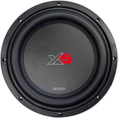 2f2d1af4238 Amazon.com: Jensen XS12 12 inch High Performance Subwoofer with a 2 inch  Single Voice Coil and 1400 Watt Peak Power: Cell Phones & Accessories