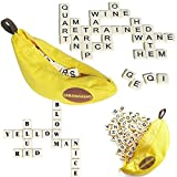 DHmart Banana Spelling Word Game Apple Pearl Game Play Reading Puzzle Toy for Children Education Gifts Bananagrams Puzzle