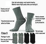 Men's Flip Flop Socks Tabi Split Toe Geta Wicking