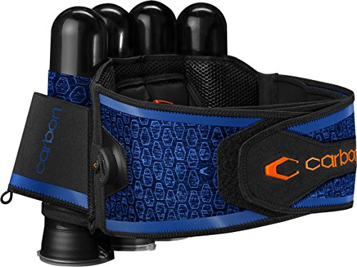 Tubes Paintball Harness 4 (Carbon SC Harness by Paintball 4-Pack Blue)