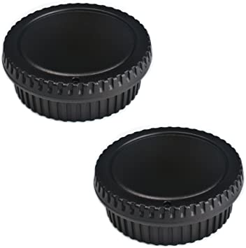OM-1 METAL REAR LENS CAP NEW IN BOX SET OF 2
