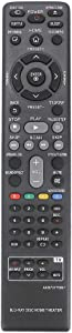 AKB73775801 Replacement Remote Applicable for LG Blu-ray Home Theater BH5140 BH5140S S54S1-S S54T1-W BH5440P S54T1-S S54T1-C BH5540T BH5140SF0 LHB655 S65T1-S S65T1-C S65T1-W LHB655FB LHB675 LHB675FB