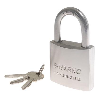 Amazon.com: Sparta B Harko HS - Candado (acero inoxidable ...
