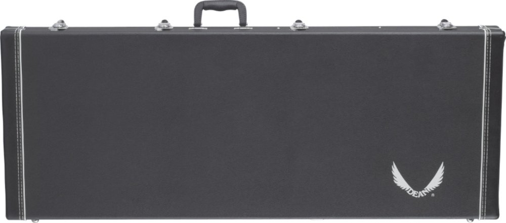 Dean Guitars DHS MLM Deluxe Hard Shell Case for Dean ML Metalman Model Electric Bass Guitars 541657001
