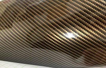 Tuning Garage 3000 19 00 M 100cm X 152cm Folie Selbstklebend Hochglanz Luftkanäle Carbon 2d Gold Schwarz Deutsche Anleitung Auto