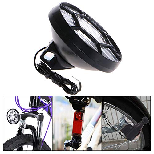 tlongtea65 Motorized Bike Bicycle Friction Dynamo Generator LED Head Tail Light Lamp Set