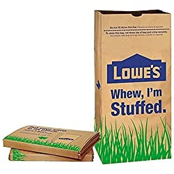 Lowe's 30 Gallon Heavy Duty Brown Paper Lawn and Refuse Bags for Home and Garden (10 Count)