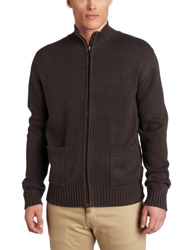 Jack Spade Men's Mookie Full Zip Sweater