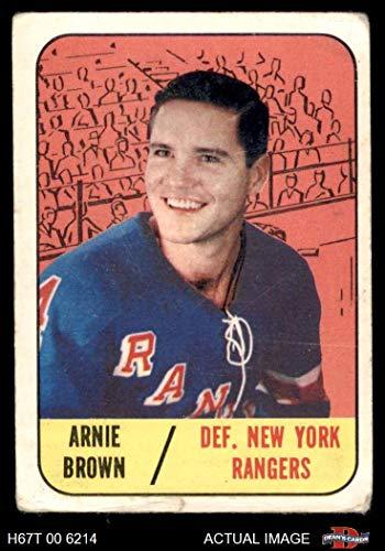 official photos 9d6e3 72e5e Amazon.com: 1967 Topps # 89 Arnie Brown New York Rangers ...