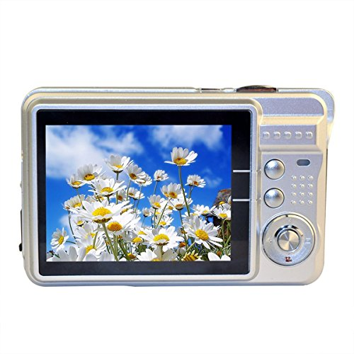 GordVE-SJB25-27inch-18MP-Mini-Digital-Camera-8x-Digital-Zoom-Silver-Color