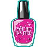 Sparkle Spa Party Invitation 8ct [Contains 4 Manufacturer Retail Unit(s) Per Amazon Combined Package Sales Unit] - SKU# 317713